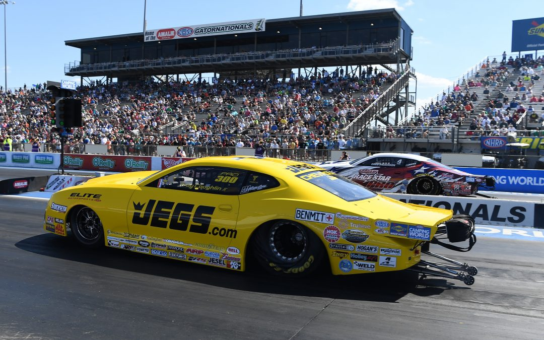 Pro Stocker Troy Coughlin Jr. off to a fast start with runner-up finish at Gatornationals